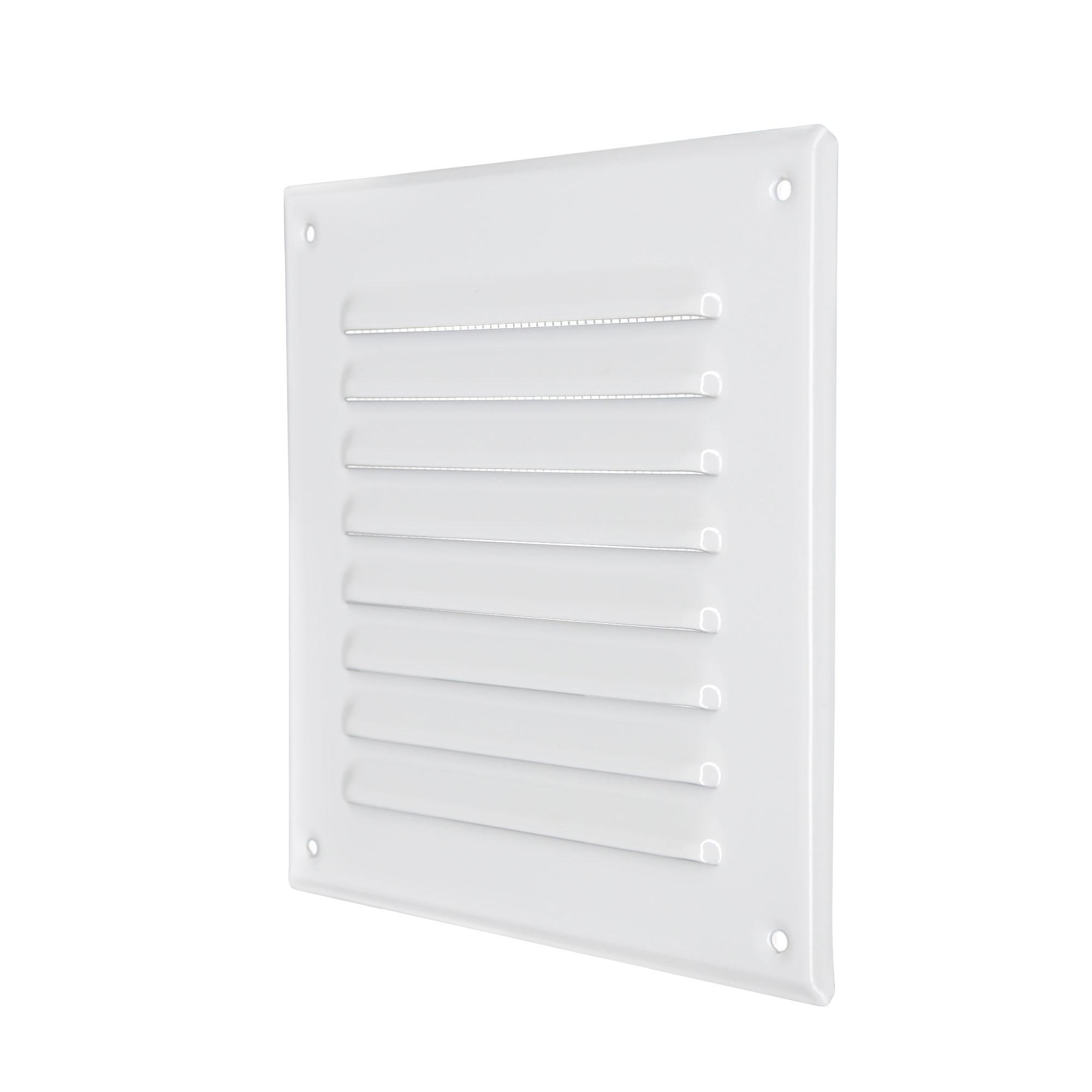 /Ø 100//125 mm Blanc AWENTA Grille de ventilation en plastique ABS Rond